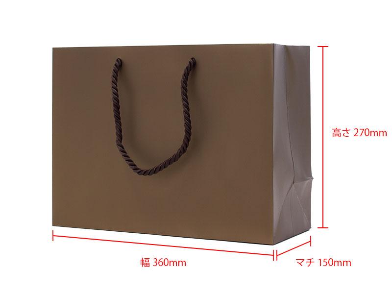 サイズ:幅360×高270×マチ150mm